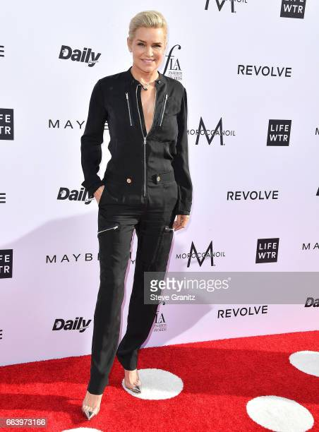 Honoree Yolanda Hadid arrives at the Daily Front Row's 3rd Annual Fashion Los Angeles Awards on April 2 2017 in West Hollywood California
