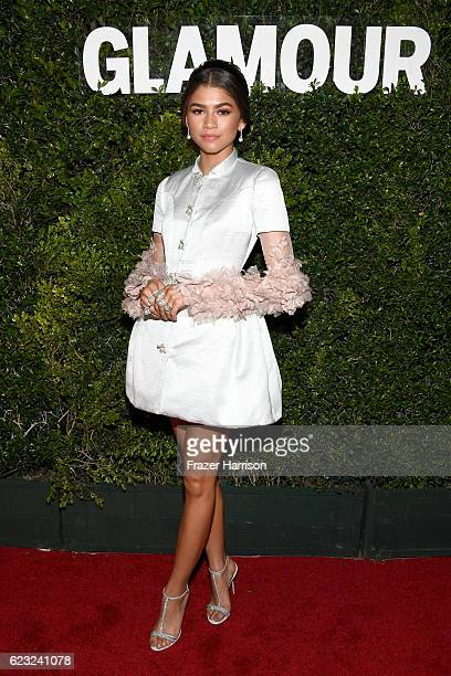 Honoree Zendaya attends Glamour Women Of The Year 2016 at NeueHouse Hollywood on November 14 2016 in Los Angeles California