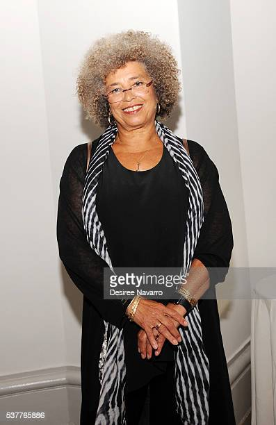 Honoree/activist Angela Y Davis attends the 2016 Brooklyn Museum's Sackler Center First Awards at Brooklyn Museum on June 2 2016 in New York City