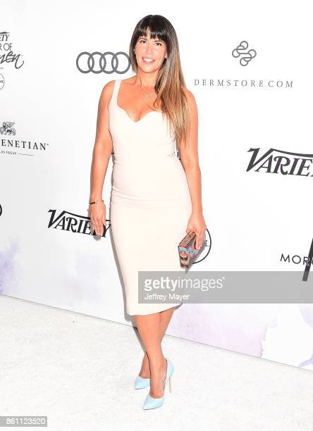 Honoree/director Patty Jenkins arrives at the Variety's Power Of Women Los Angeles at the Beverly Wilshire Four Seasons Hotel on October 13 2017 in...