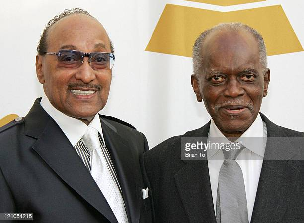 Honorees Abdul Duke Fakir of the Four Tops and Hank Jones arrive at The Recording Academy's Special Merit Awards Ceremony at Wilshire Ebell Theater...