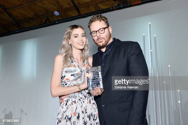 Honorees Alexandra Parker and Sean Parker attend UCLA Mattel Children's Hospital presents Kaleidoscope 5 on May 6 2017 in Culver City California