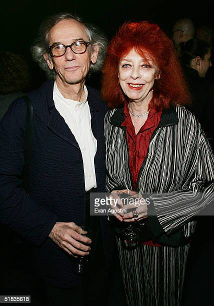 Honorees and artists Christo and JeanneClaude attend the third annual Urban Visionaries award dinner and auction at the Hammerstein Ballroom December...