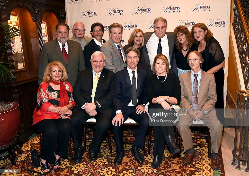 Honorees and guests attend the NATD Honors Gala on November 9, 2015 in Nashville, Tennessee.