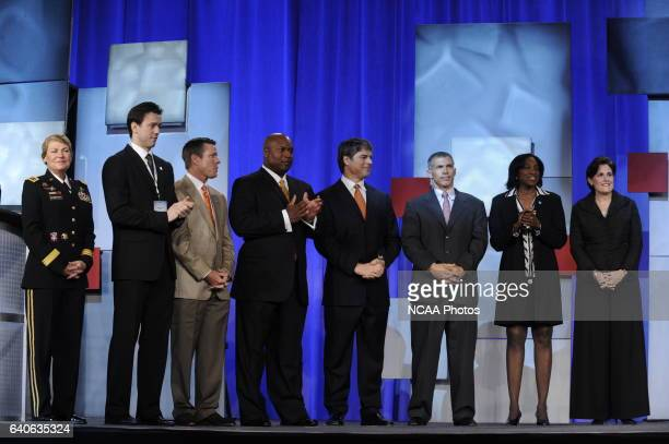 Honorees and guests participate in the NCAA Photos via Getty Images Honors Celebration at the 2011 NCAA Photos via Getty Images Convention held at...