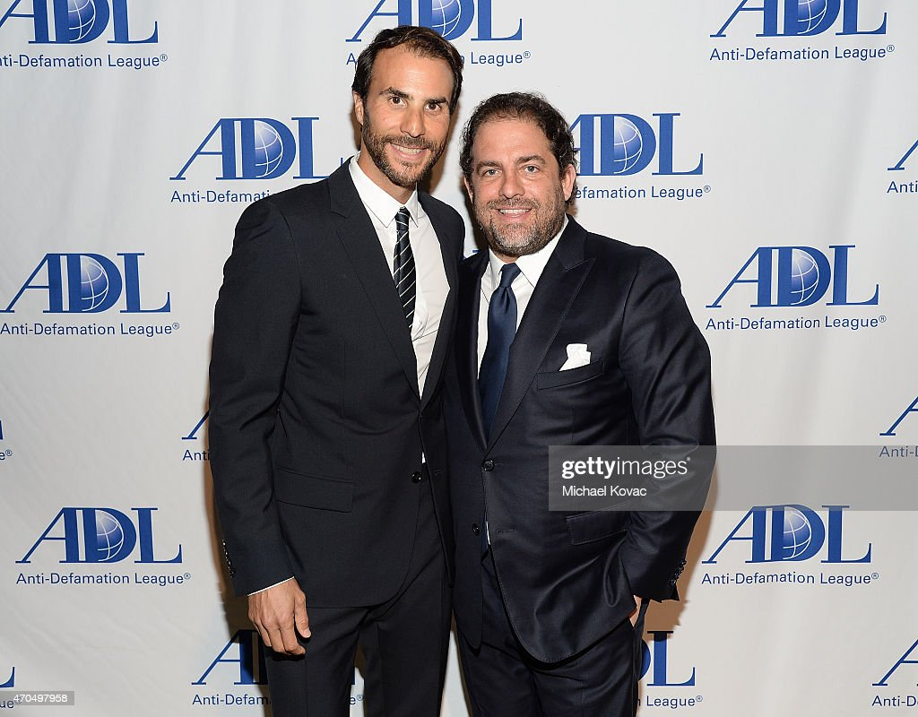 Honorees Ben Silverman (L) and Brett Ratner attend the Anti-Defamation League's 2015 Entertainment Industry Dinner at The Beverly Hilton Hotel on April 20, 2015 in Beverly Hills, California.