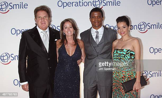 Honorees Bruce Makowsky Kathy Van Zeeland Sharif Atkins and Bethany Hotchkiss attend the Operation Smile's Smile Event at Cipriani Wall Street on May...