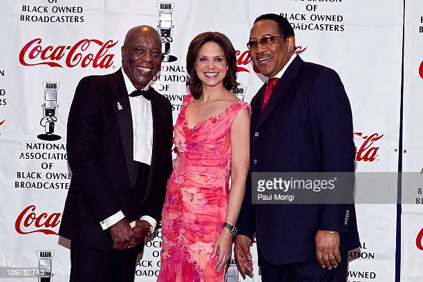 Honorees Buddy Guy Soledad O'Brien and Bobby Jones at the 27th Annual National Association of Black Owned Broadcasters Communication Awards Dinner at...
