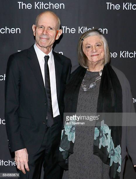Honorees Charles Atlas and Dara Birnbaum attend the 2016 Kitchen Spring Gala Benefit at Cipriani Wall Street on May 26 2016 in New York City