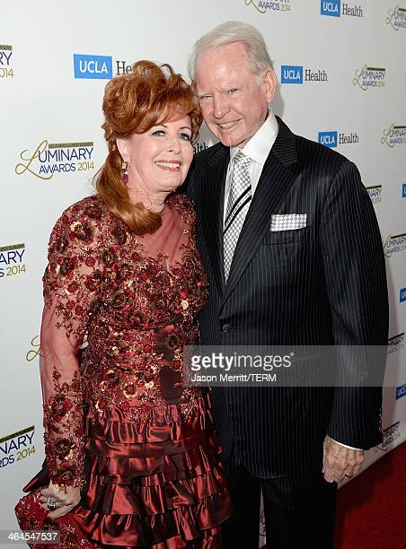 Honorees Dianne Bashor and James Bashor attend the UCLA Head and Neck Surgery Luminary Awards at the Beverly Wilshire Four Seasons Hotel on January...