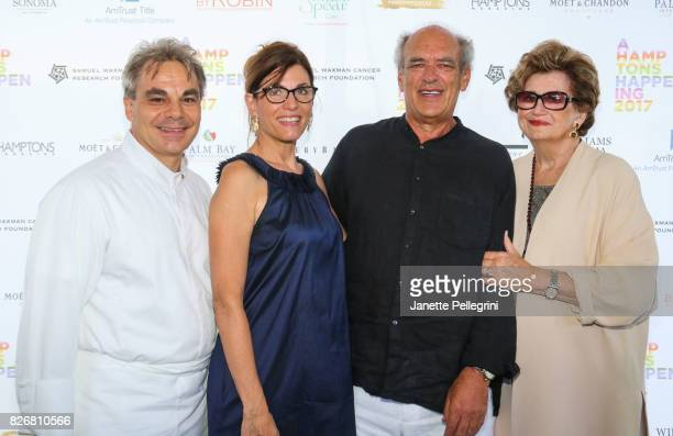 Honorees Gabriel Kreuther Bobbie Lloyd Shep Gordon and Margaret Hayes attend Samuel Waxman Cancer Research Foundation 13th Annual Hamptons Happening...