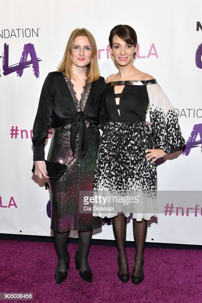 Honorees Gemma Sole and Amanda Curtis attend the 2018 National Retail Federation Gala at Pier 60 on January 14 2018 in New York City