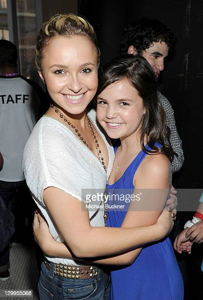 Honorees Hayden Panettiere and Bailee Madison attend Variety's 5th annual Power Of Youth event presented by The Hub at Paramount Studios on October...