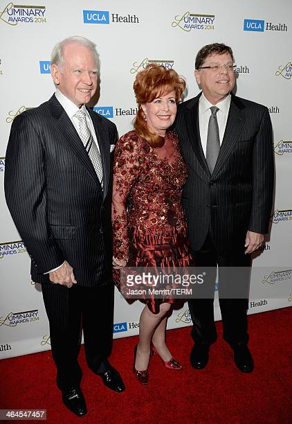 Honorees James Bashor Dianne Bashor and Department Chair UCLA Head and Neck Surgery Dr Gerald Berke attend the UCLA Head and Neck Surgery Luminary...
