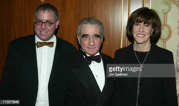 Honorees James Schamus Martin Scorsese and Nora Ephron