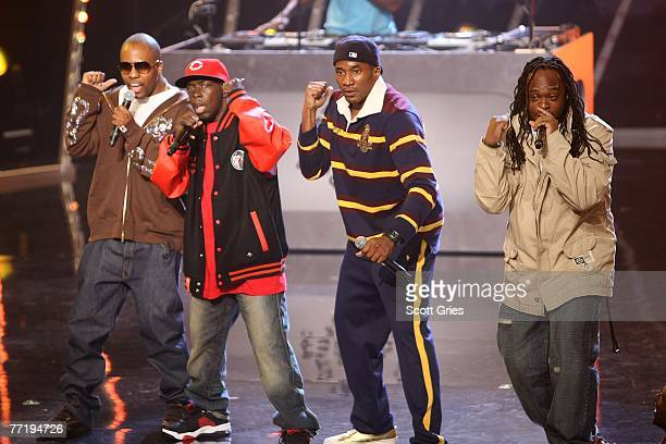 Honorees Jarobi White QTip Phife Dawg Ali Shaheed Muhammad and Consequence of A Tribe Called Quest perfom at the 4th Annual VH1 Hip Hop Honors...