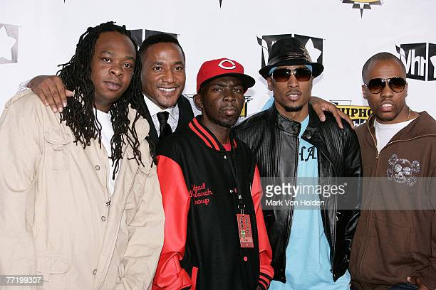 Honorees Jarobi White QTip Phife Dawg Ali Shaheed Muhammad and Consequence of A Tribe Called Quest attend the 2007 VH1 Hip Hop Honors at Hammerstein...