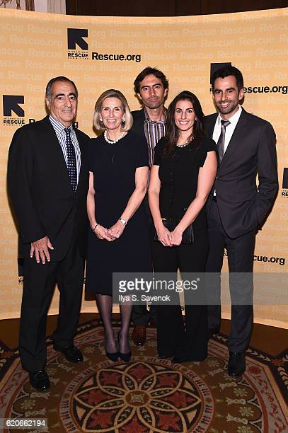 Honorees John Mack Christy Mack John Mack Jenna Mack and Stephen Mack attend the International Rescue Committee 2016 Rescue Dinner at Waldorf Astoria...