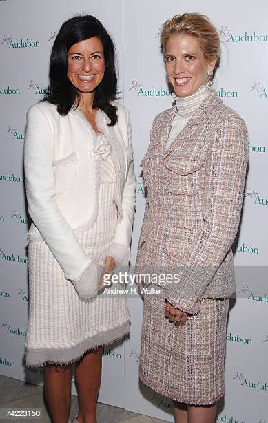 Honorees Laurie David and Deirdre Imus attend the National Audubon Society's Annual Women in Conservation luncheon on May 22 2007 in New York City
