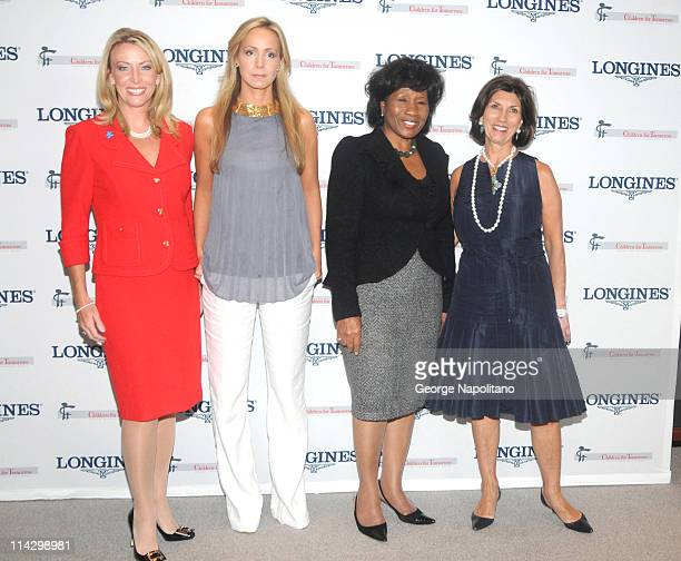 Honorees Lorri Unumb Leila deBruyne and Deloris Jordanand Editor inchhief Pamela Fiori attend the Women Who Make a Difference Awards hosted by...