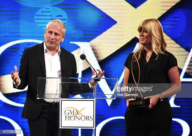Honorees Louie Giglio and Shelly Giglio during The 2nd Annual GMA Honors at Allen Arena, Lipscomb University on May 5, 2015 in Nashville, Tennessee.
