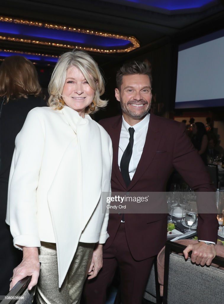 Ryan Seacrest, Martha Stewart, Hal Lawton Honored At 2019 Fashion Scholarship Fund Awards Gala : News Photo