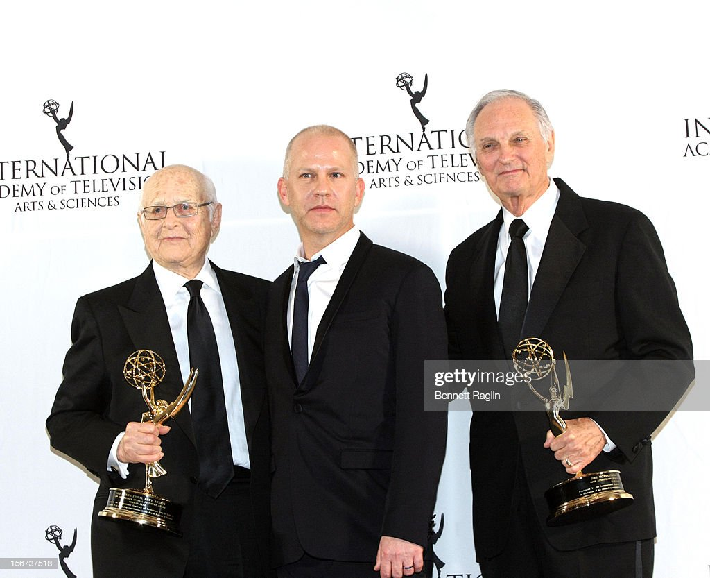Honorees Norman Lear, Ryan Murphy, and Alan Alda attend the 40th Annual International Emmy Awards at the Hilton New York on November 19, 2012 in New York City.