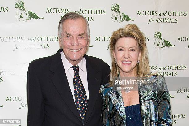 Honorees Peter Marshall Laurie Marshall attend the 'Joy To The Animals' luncheon and fundraiser at Universal City Hilton Towers on December 4 2016 in...