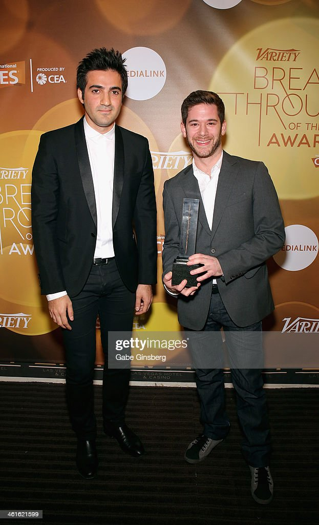 2014 Variety Breakthrough Of The Year Awards - Backstage : News Photo