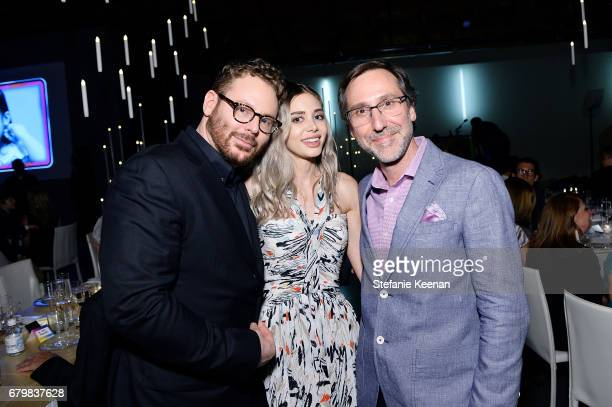 Honorees Sean Parker Alexandra Parker and Tony Ribes attend UCLA Mattel Children's Hospital presents Kaleidoscope 5 on May 6 2017 in Culver City...