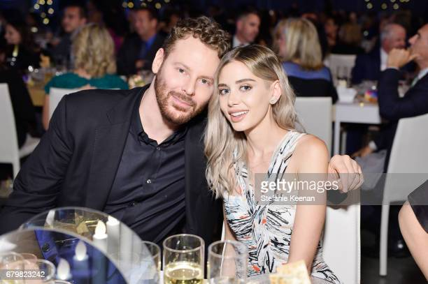 Honorees Sean Parker and Alexandra Parker attend UCLA Mattel Children's Hospital presents Kaleidoscope 5 on May 6 2017 in Culver City California