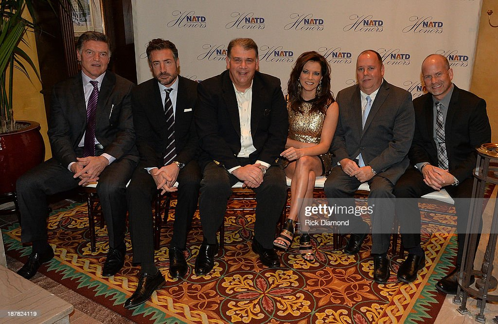 Honorees Sports Agent Tom Condon, Attorney/Manager Bernie Cahill, CEO ACM's Bob Romeo, Singer/Songwriter Martina McBride, Artist Manager Chaz Corzine and Agent BLA Kevin Neal attend the 3rd. annual NATD Honors 2013 at the Hermitage Hotel on November 12, 2013 in Nashville, Tennessee.