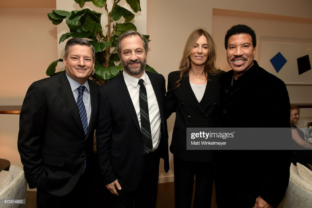 Honorees Ted Sarandos, Judd Apatow, Kathryn Bigelow, and Lionel Richie attend the SAG-AFTRA Foundation Patron of the Artists Awards 2017 at the Wallis Annenberg Center for the Performing Arts on November 9, 2017 in Beverly Hills, California.