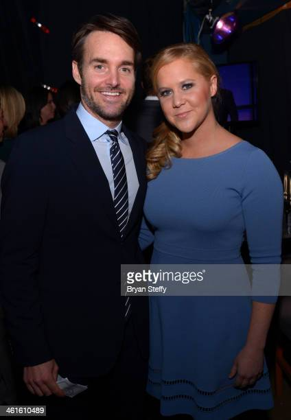 Honorees Will Forte and Amy Schumer attend the Variety Breakthrough of the Year Awards during the 2014 International CES at The Las Vegas Hotel...
