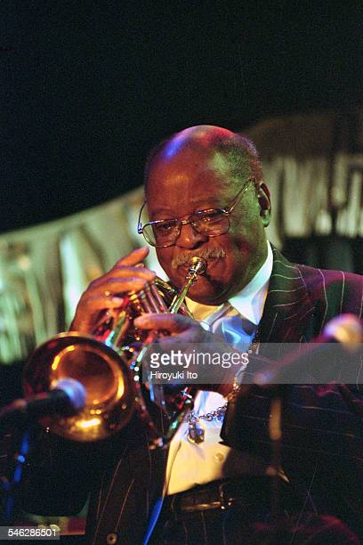 Honoring Clark Terry at the Blue Note on Monday night December 9 2002This imageClark Terry