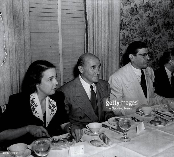 Honoring Mrs Eleanor Gehrig whom recently was signed to a contract by Samuel Goldwyn who will bring the life of her husband Lou Gehrig to the screen...