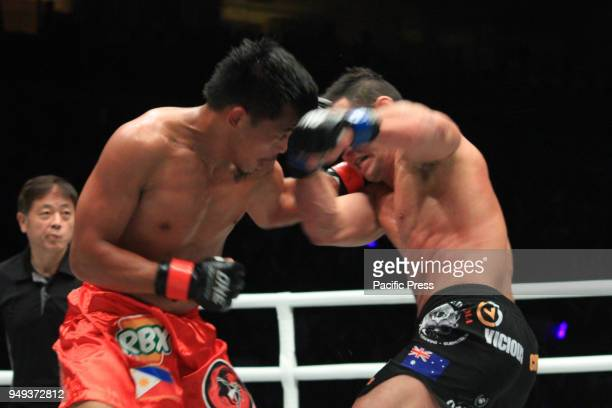 Honorio Banario lands a clean punch to the face of Adrian Pang Honorio Banario turns to experience and narrowly wins over Adrian Pang via a split...