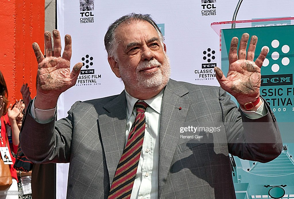 TCM Honors Academy Award Winning Filmmaker Francis Ford Coppola With Hand/Footprint Ceremony At TCL Chinese Theatre IMAX