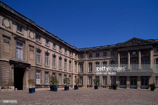 Honour courtyard of Chateau de Compiegne Picardy France 18th century