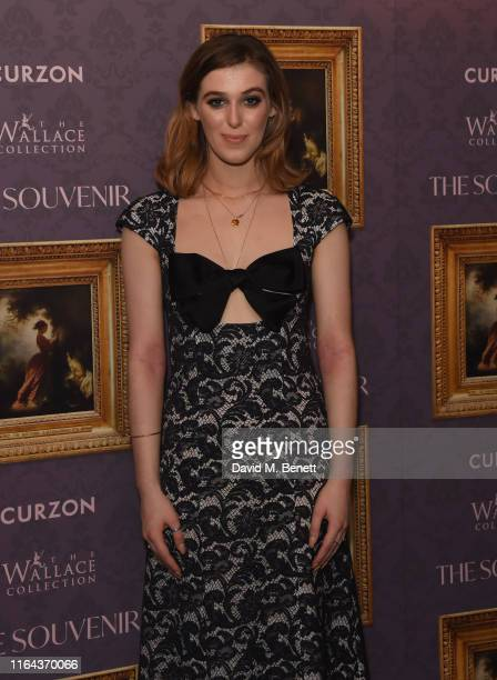 Honour Swinton Byrne attends the UK Gala Screening of The Souvenir at The Curzon Mayfair on August 27 2019 in London England