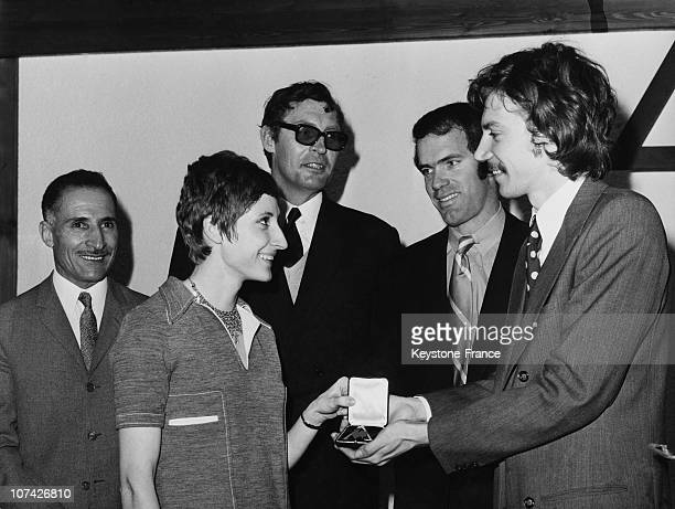 Honour To The French Annual Champions At Paris In France On December 2Nd 1970
