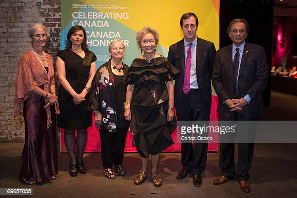 Honoured in the Public Engagement category are Danielle McLaughlin Nahlah Ayed Michele Landsberg Adrienne Clarkson Andrew Coyne and The Star''s...
