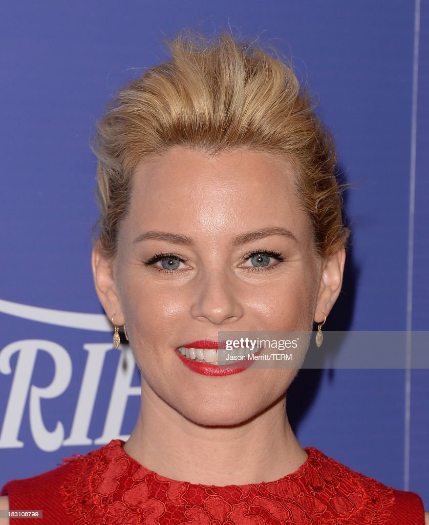 Honree Elizabeth Banks arrives at Variety's 5th Annual Power of Women event presented by Lifetime at the Beverly Wilshire Four Seasons Hotel on October 4, 2013 in Beverly Hills, California.