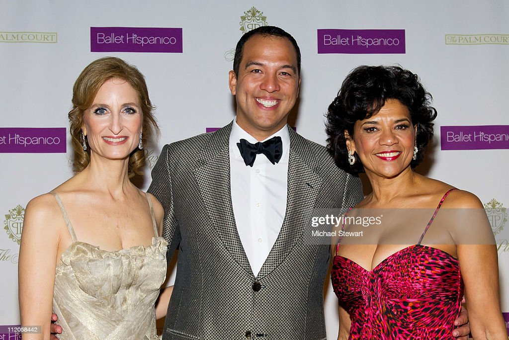 Honroee Kate Lear, Ballet Pacifico artistic director Edwardo Vilaro and honree Sonia Manzano attends the Ballet Hispanico 40th Anniversary Spring Gala at Manhattan Center Grand Ballroom on April 12, 2011 in New York City.