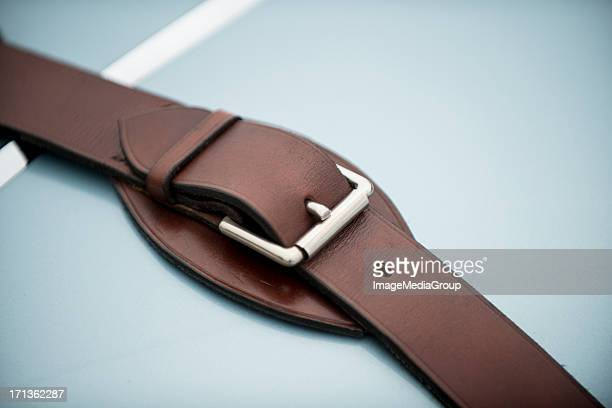 hood buckle - leather belt stock pictures, royalty-free photos & images