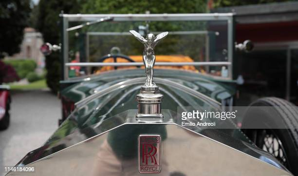 Hood ornament of a Rolls-Royce 20 H.P. On display at the Concorso d'Eleganza Villa d'Este on May 25, 2019 in Como, Italy. Approximately 50 historic...