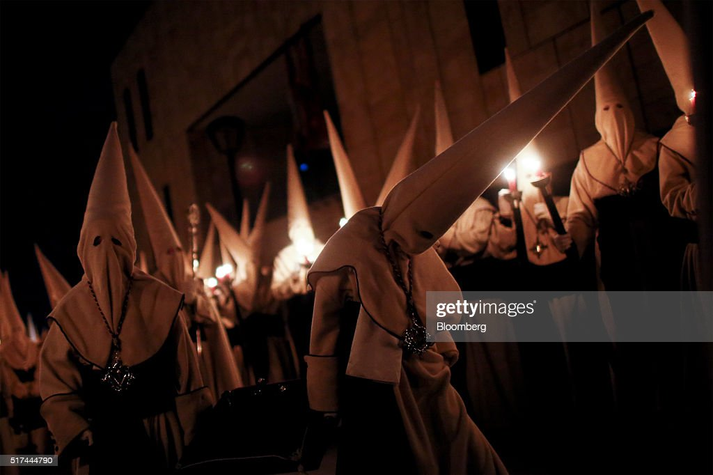 Celebrating Holy Week In Spain : News Photo