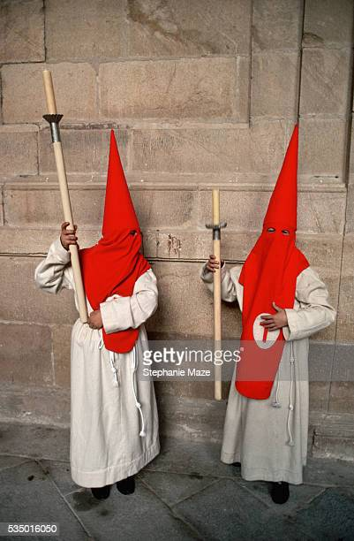 Hooded Penitents