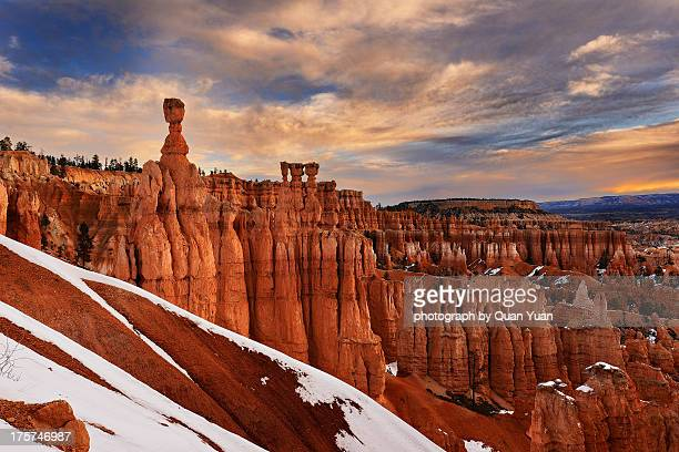 hoodoo forest - yuan quan stock pictures, royalty-free photos & images