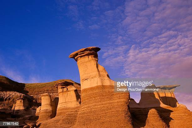 hoodoos - foothills stock pictures, royalty-free photos & images